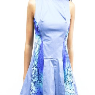 Hong Kong designer Blind by JW Casual Dress (Blue Ocean)