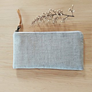 Linen long storage bag wallet phone bag pen bag