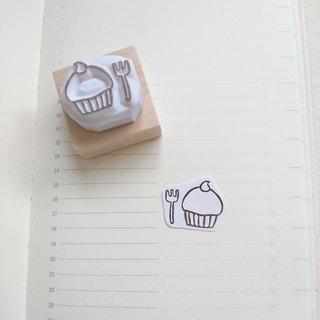 Cup cake stamp