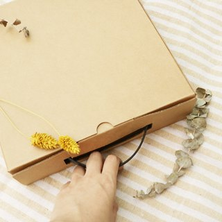 Plus purchase -8 吋 Kraft paper box