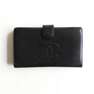 A ROOM MODEL - VINTAGE, BD-0508 CHANEL black long clip
