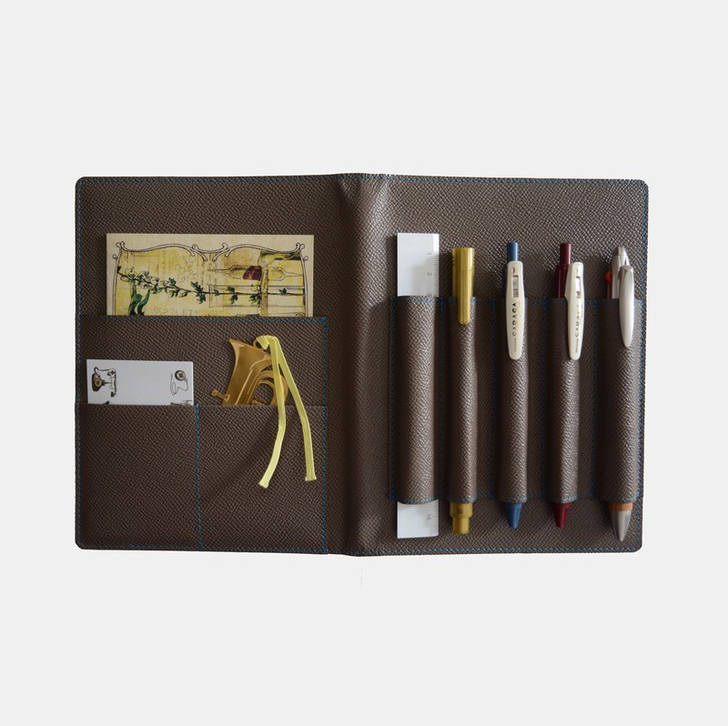Culioro LEATHER NOTEBOOK COVER B6 Beige