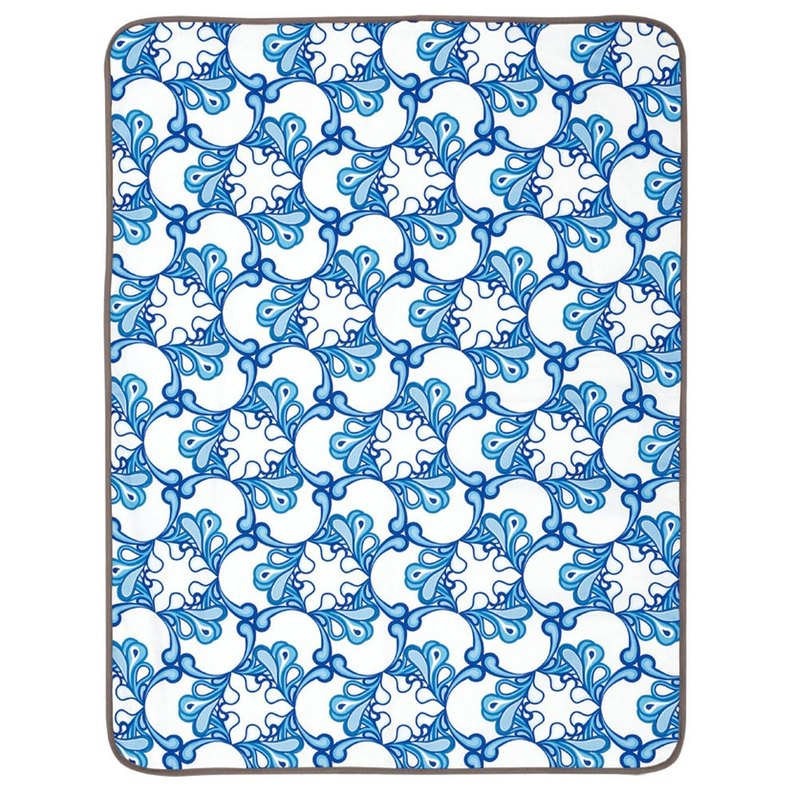 Sheet and Mattresses Protector Pad - Pacific Waves
