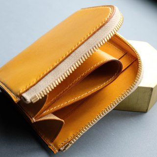 Zipper Short Wallet