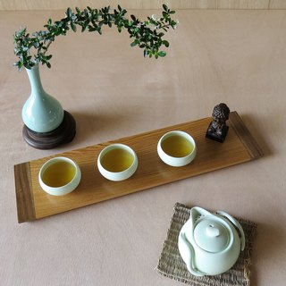 HO MOOD Deconstruction Series - Handmade Log Tea Tray