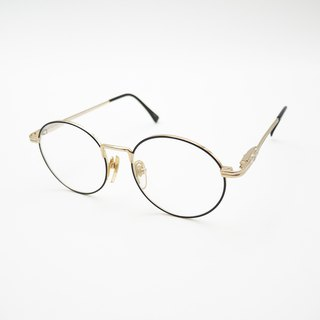 Monroe Optical Shop / Japan K gold round glasses no.A20 vintage