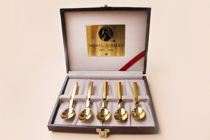 Nobel 90 Anniversary Gold Tableware【Limited Edition】