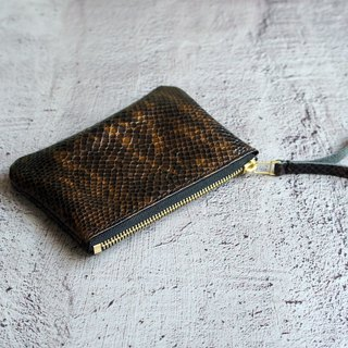Regular calfskin wallet wild can be put into a banknote key change