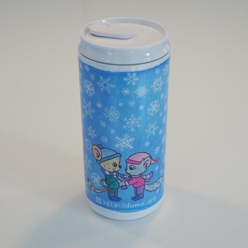 Dumo 溫馨雪景環保水瓶
