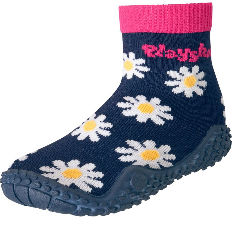 Germany PlayShoes anti-UV amphibious beach children's socks - daisies