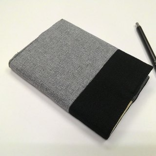 Exquisite A6 cloth book clothing ~ gray (unique product) B04-044
