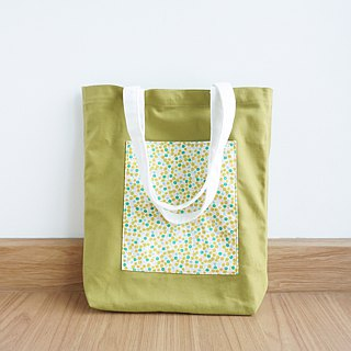 Keb Reab Canvas Tote Bag - Matcha Green