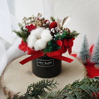 Classic Christmas Pot (Red and Black)
