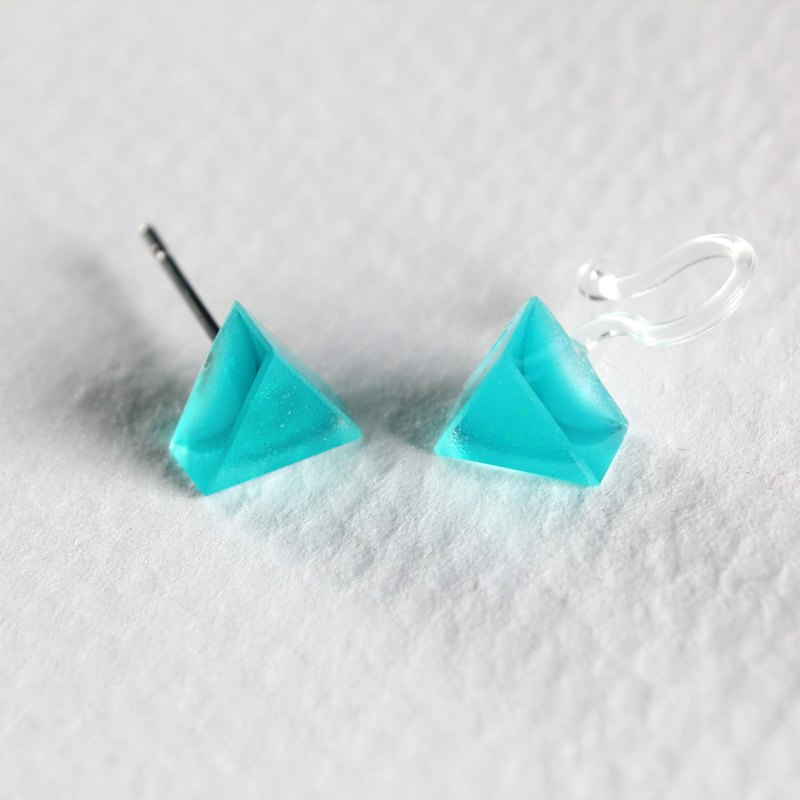 Teenage Fantasy / Resin Earrings - Single Stud
