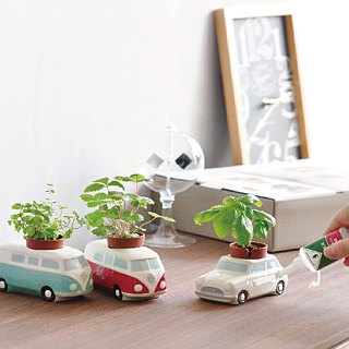 St. New Pottery Auto Plants Car Retro Van / Classic Classic Car (three models)