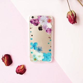 执着的爱恋 • Handpressed Flower Phone Case