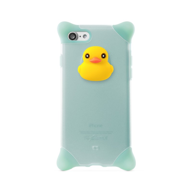 Bone / iPhone 8 / 7 Bubble Protector - Duck