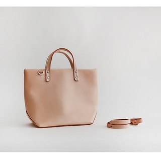 Handmade leather handbags female tote original shoulder bag retro vegetable tanned leather Messenger bag double-sided strap