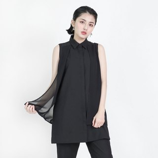 Fantasy Fantasy Sleeveless Shirt_8SF051_Black