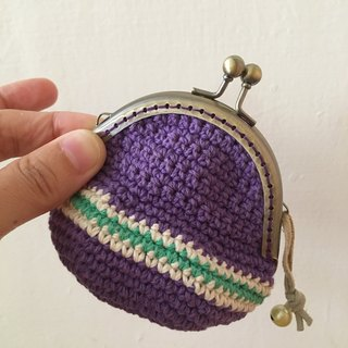 Grape seed gold gold coin purse