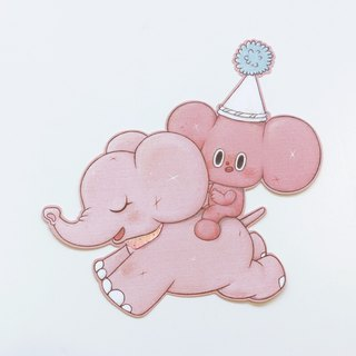 Elephant Starfy Card SET