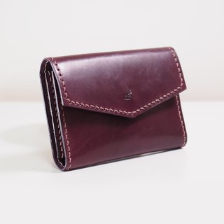 Business Card Holder - Plum Caspia