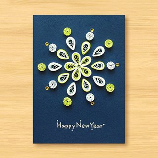 Handmade Roll Paper Card _ Fireworks _F ... New Year Greeting Card, Thank You Card, Universal Card