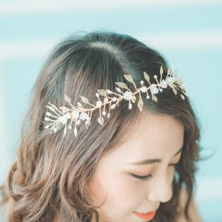 Lilly of the Valley Tiara / Bridal Headdress / Custom Accessories / Craft Accessories