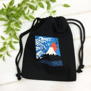 | •R• | Wind splicing harness pocket | Binkou universal bag/storage bag | Mt. Fuji