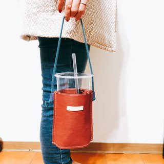 Come to this set of bags, tear not wash, kraft paper, drink bag, red