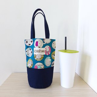 Universal beverage bag - circle animal