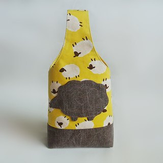Cute sheep small yellow bag
