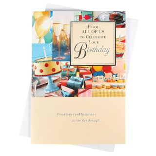 Sincerely wish you a wonderful birthday [Hallmark-card birthday greetings]