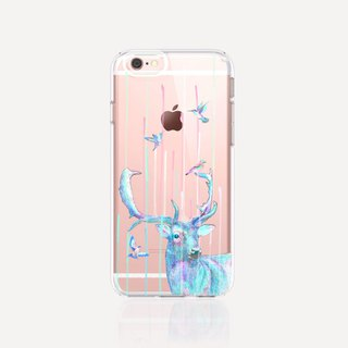 Deer iPhone 7 Case Clear iPhone 8 Case Clear iPhone 7 Plus Case Clear iPhone 6S