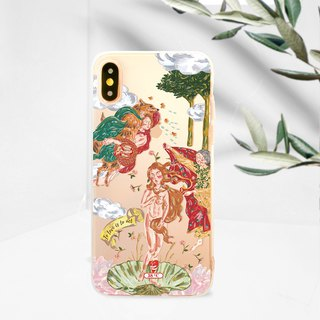 The Birth of Venus iPhone XS Max 8 plus case Samsung note 9 note 8 case s9 s8+
