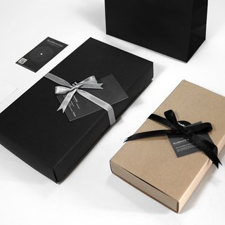 Add a Gift Wrap ( Gift box + ribbon + card )