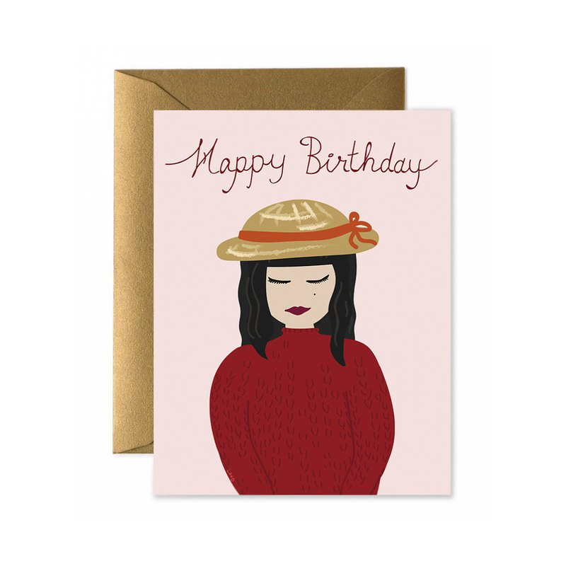 Lalita Happy Birthday Card