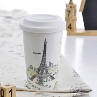 JB Design I am not a paper cup ~ city style series France _ Paris Tower