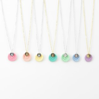 [Goody Bag] Your exclusive*happy annual ring*necklace optional English letter 7 piece set