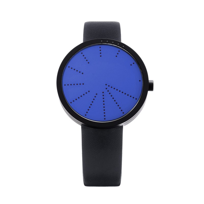 Order Watch New York Contemporary Ghost Designer Minimalist Watch - Blue