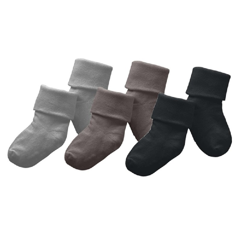 American Babysoy-Shu cotton socks (3 in) _ gray series (647PI, AC, TH)