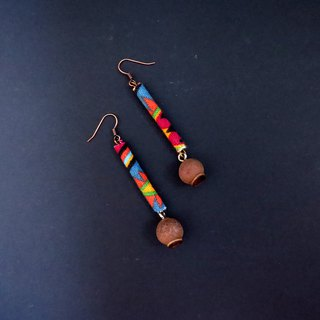 No.8 Eucalyptus Forest National Fruit Handmade Earrings