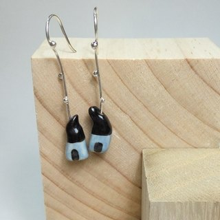 Elf cabin earrings