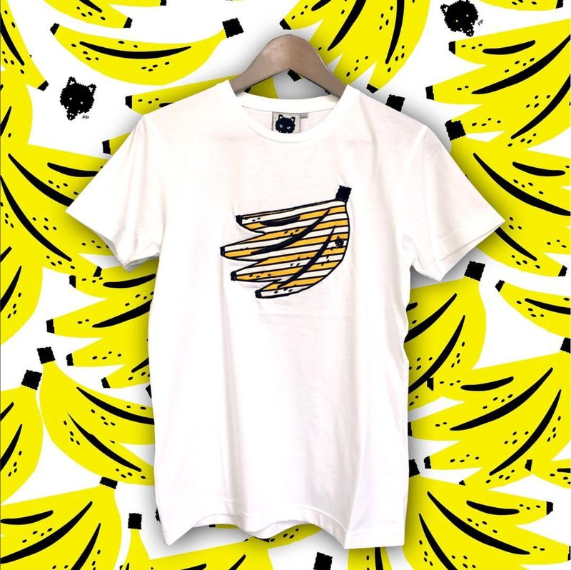 Foxpixel 3D Embroidery Tee with Banana