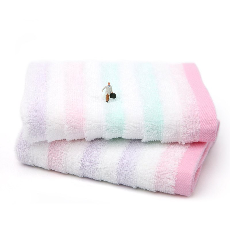 Dream-absorbent towel | Shun series - life style I lying on the towel on cotton | send blessing card
