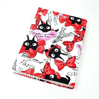 Cloth Book Cloth Book Clothing - Butterfly Cat (Red)