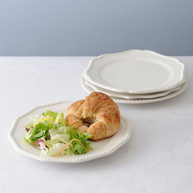 日本BRUNO 210mm陶瓷盤組 (白色)