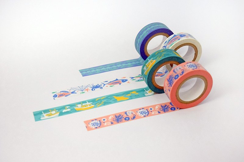 16mm paper tape 4 into the group / sea treasure