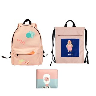 LUCKY BAG-YIZISTORE Christmas Special Blessing Bag 2 - Backpack + Backpack + Coin Purse