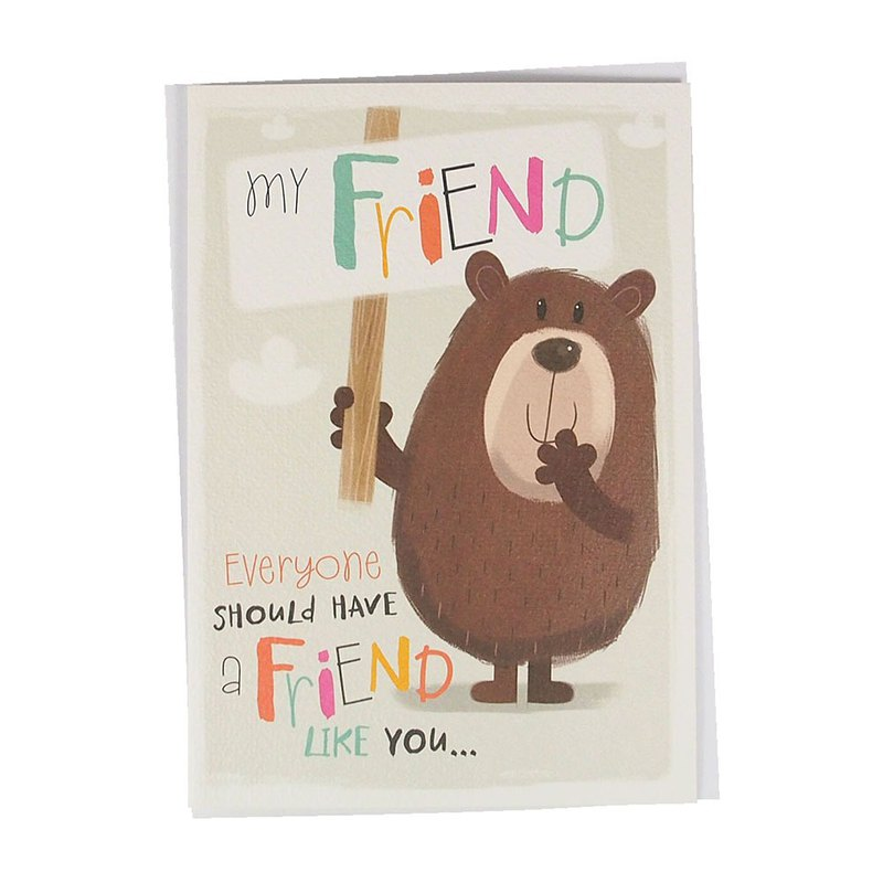 Friends + friends = the best fun [Hallmark-GUS series friendship forever]